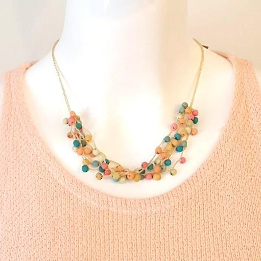 Crochet Chirilla Necklace-Jewelry-in2ition mercantile