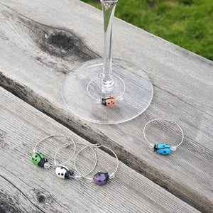 Glass Wine Charms-Wares-in2ition mercantile