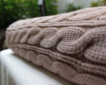 Cable Knit Throw-Linens-in2ition mercantile
