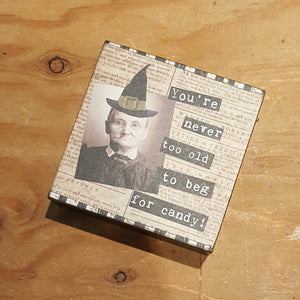 Halloween Stand-Up Sign-Occasion-in2ition mercantile