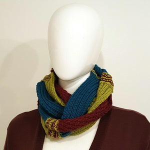 Harlequin Infinity Scarf-Accessories-in2ition mercantile