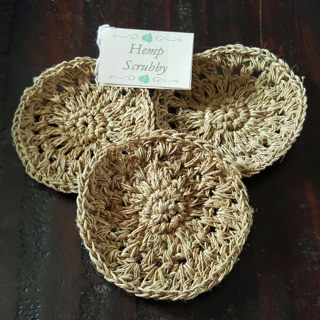 Hemp Scrubby-Linens-in2ition mercantile