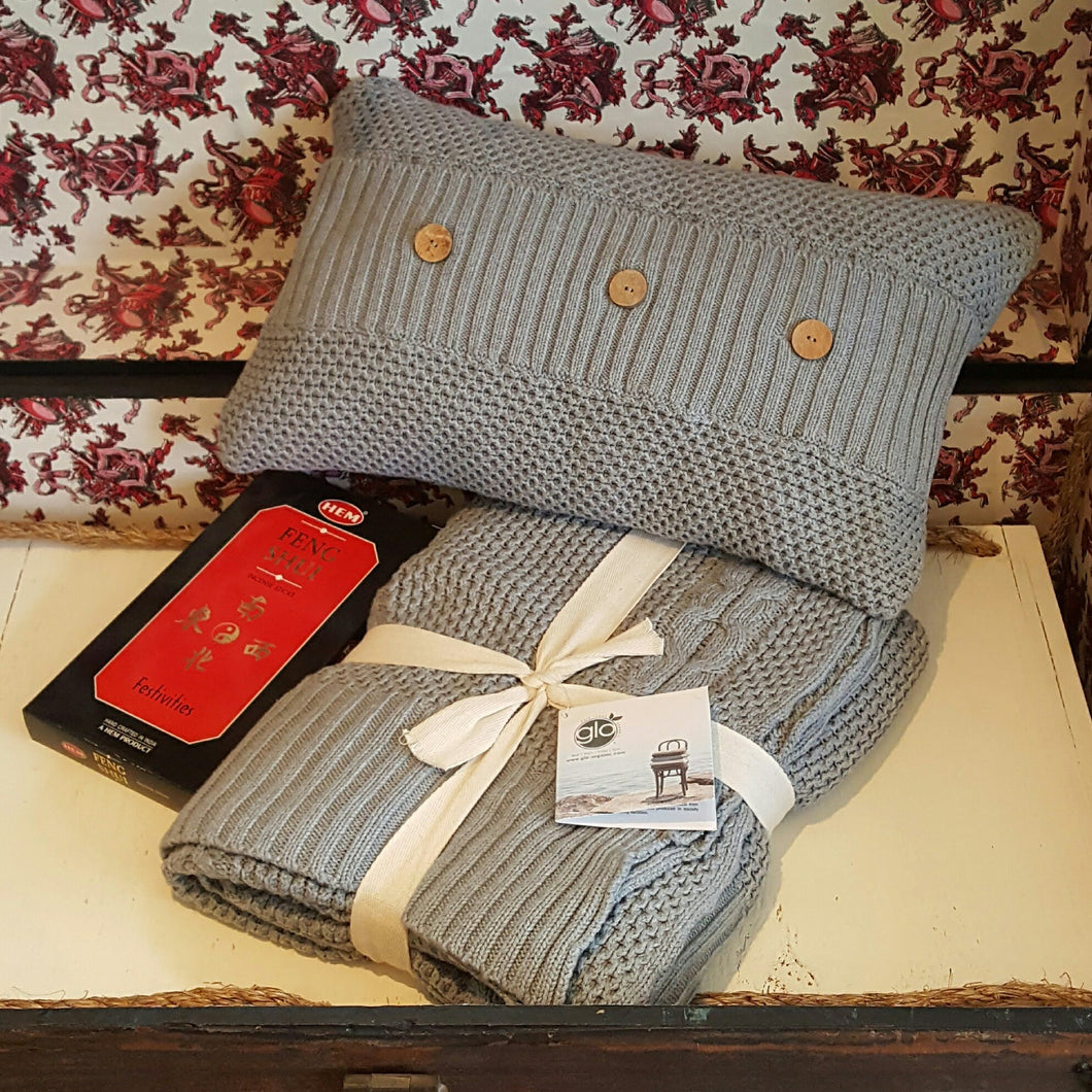 Honeycomb Throw & Pillow-in2ition mercantile