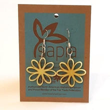 Lemon Chiffon Earrings-in2ition mercantile