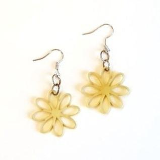 Lemon Chiffon Earrings-Jewelry-in2ition mercantile