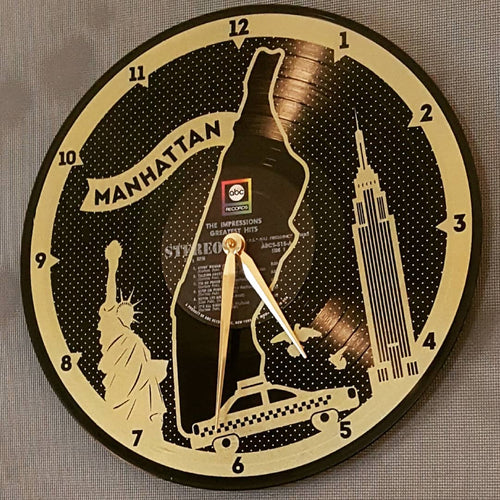 Record Clocks-Decor-in2ition mercantile