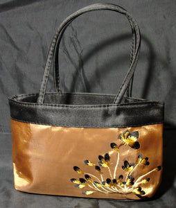 Satin Embroidered Bag-in2ition mercantile
