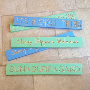 Seashore Wood Signs-Garden-in2ition mercantile