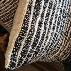 Silk Stripe Pillow-in2ition mercantile