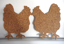 Smooching Hens Cork Trivet Set-Wares-in2ition mercantile