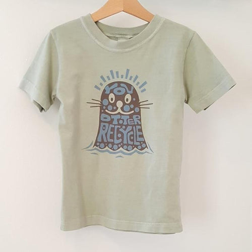 You Otter Recycle Toddler Tee-in2ition mercantile
