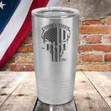 Corrections Punisher - Laser Etched Tumbler