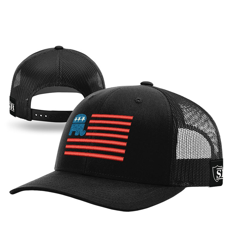 Republican Flag Hat