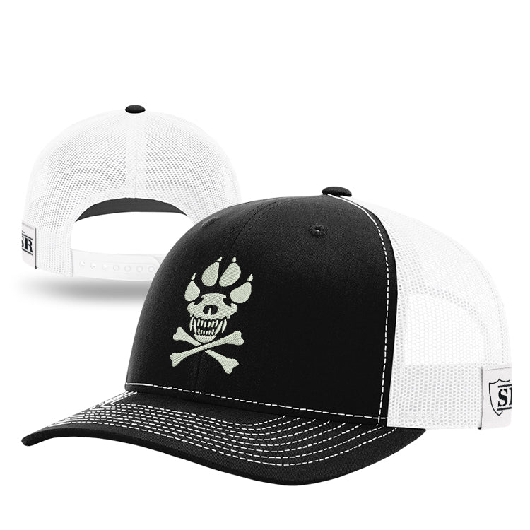 K-9 Crossbones Mesh Back Hat