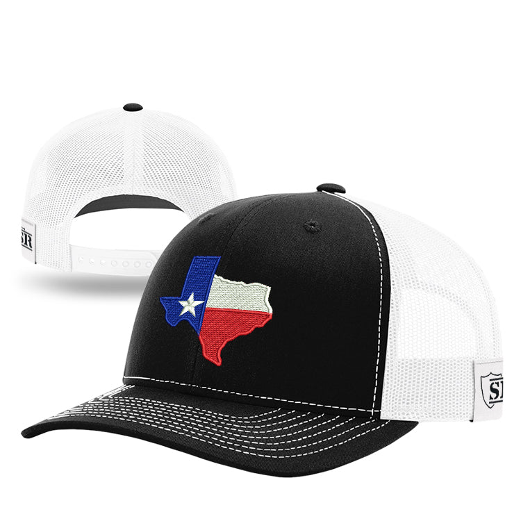 Texas Flag Outline Hat