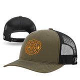 Firefighter Camo Mesh Back Hat