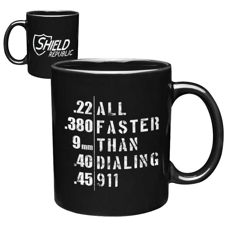 All Faster Coffee Mug