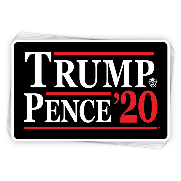 Trump Pence 2020 Decal