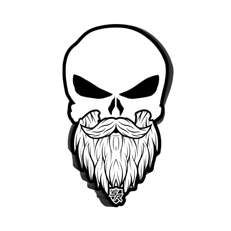 Bearded Punisher Decal