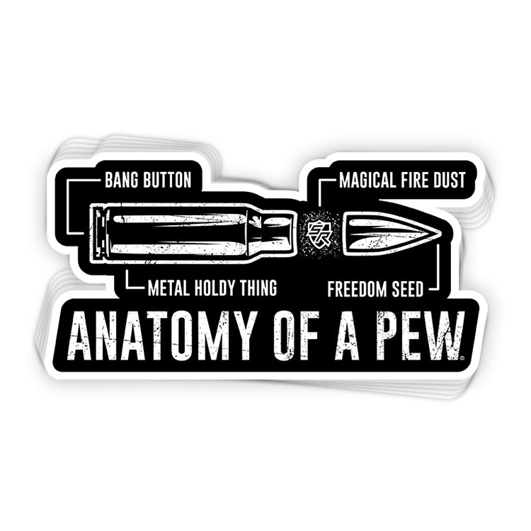 Anatomy of a Pew Decal
