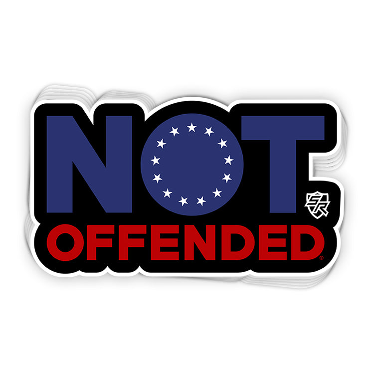 Not Offended (Betsy Ross Stars)