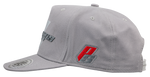 Flat Bill Hat-Grey/Grey