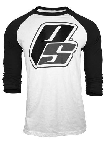 Baseball Tee - Black/White