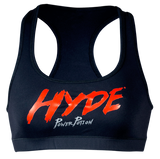 Hyde Ladies Sports Bra Black