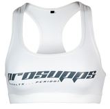 ProSupps Ladies Sports Bra White