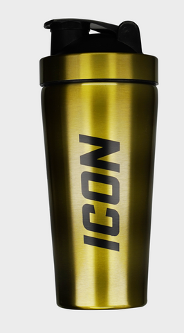 Mr. Hyde Icon Gold Stainless Steel Shaker