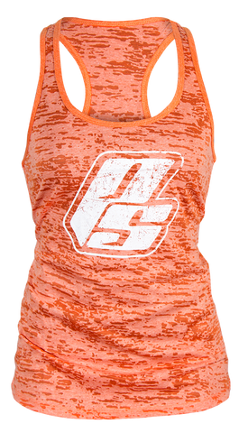 PS Strong Burnout Tank - Salmon