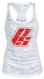 PS Strong Burnout Tank - White