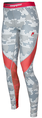 Ladies Hex Camo Compression Tights