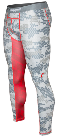 Mens Hex Camo Compression Tights