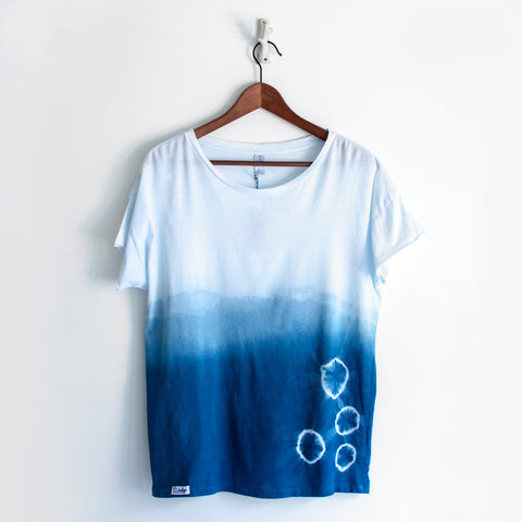Indigo Ombre Supima Cotton T-Shirt