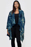 Blue Tiger Shibori Wool Jacket
