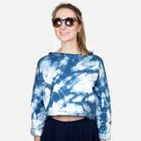 Glacial Cool California Fleece Crop Top