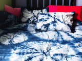 Bedding Set in Intergalactic Blue Burst
