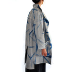 Itajime Linen Jacket With External Pocket