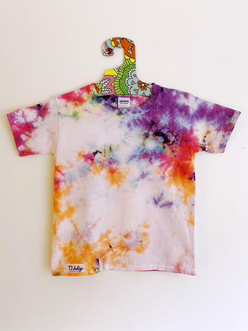 Kids Short Sleeve T-shirt In Flower Thieves