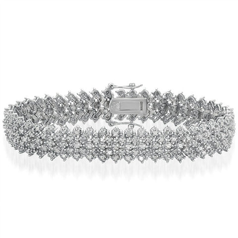 Vintage Looking 2.00CT Diamond Pave Bracelet