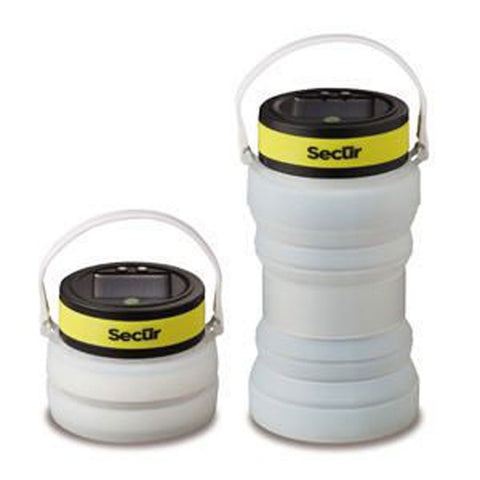 Secur Waterproof Solar Powered Collapsible Bottle Lantern, SP-1108