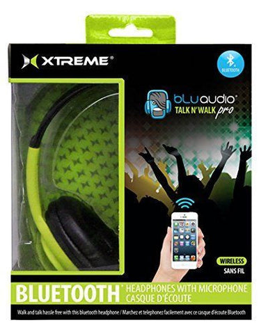 Xtreme Cables 51411 Talk N Walk Pro Bluetooth Headphones Green