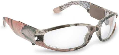Panther Vision LIGHTSPECS Predator Camo ANSI Z87.1 Rated LED Safety Glasses
