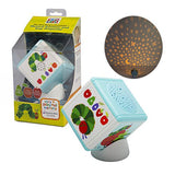 Baby Portable Musical Soother & Star Projector - The Very Hungry Caterpillar - 4 Modes of Light and Sound