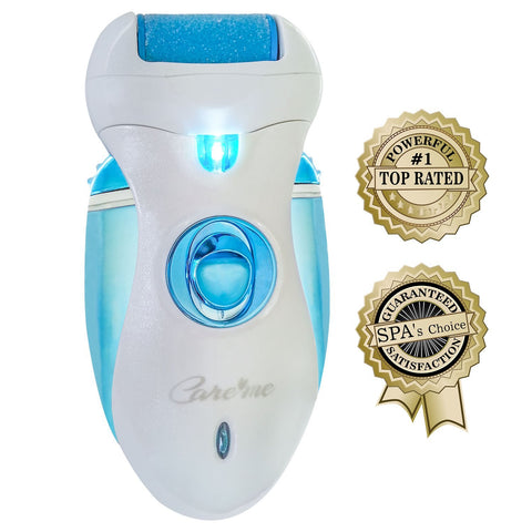 Electronic Pedicure Foot File Callus Remover Rechargeable - Blue or Purple