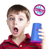 (2 Pack) Wow Cup for Kids, NEW Innovative 360 Spill Free Drinking Cup, BPA Free, 9 Ounce, Pink