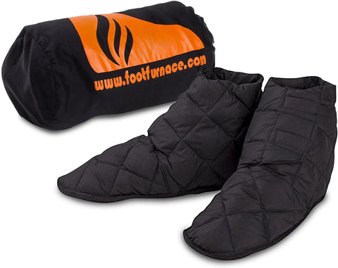 Roscos Comforts Foot Furnace Genuine Luxury Extra-Warm Bed Slippers. Fully Breathable & Quilted - Stops Cold Feet in Bed - Non-Powered Foot Warming Socks for Cold Feet, Diabetes & Raynaud's