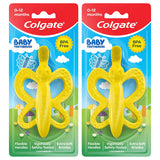 (2 PACK) Colgate Baby Toothbrush and Teether BPA Free
