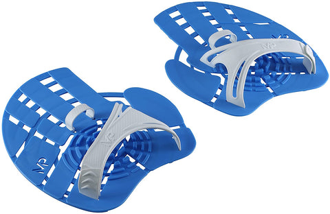 Aqua Sphere MP Michael Phelps Strength Hand Paddles, Blue, Large Fit